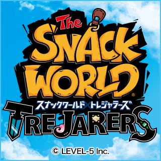 スナックワールド トレジャラーズ3DS 7月13日発売予定