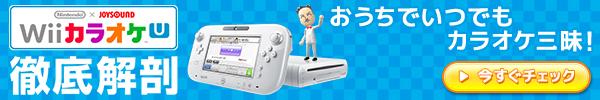 Wii カラオケUを徹底解剖