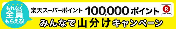 【今だけ!】もれなくもらえる!10万ポイント山分けキャンペーン開催中!お得にポイントを貯めるチャンス!