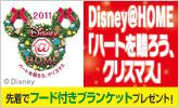 【Disney】オリジナルブランケットもらえる!
