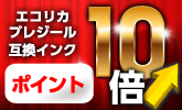 エコリカ・プレジール互換インク ポイント10倍!