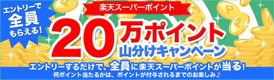 """【楽天ブックス】ラッキーチャンス!楽天ブックス20万ポイント山分けキャンペーン"""""""
