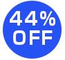 44%オフ