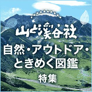 山と溪谷社 自然・アウトドア・ときめく図鑑 特集