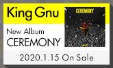 ニューアルバム「CEREMONY」1/15(水)発売!
