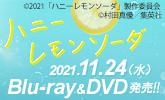 11/24発売『ハニーレモンソーダ』