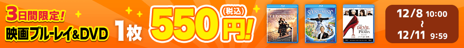 3日間限定!1枚550円!