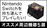 Nintendo Switchを持ち運んでプレイしたい!オススメ周辺機器5選