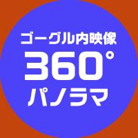 ゴーグル内映像360°パノラマ