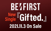 BE:FIRST、ニューシングル『Gifted.』11/3発売