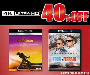 対象の4K ULTRA HDが40%OFF!