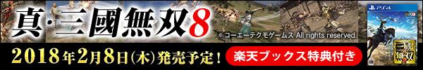 真・三國無双8 楽天ブックス特典つき!