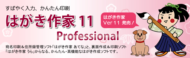 はがき作家 11 Professional