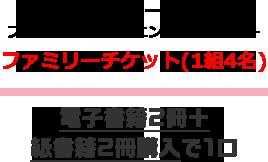 東京ディズニーランド プライベート・イブニング・パーティー ファミリーチケット(1組4名)