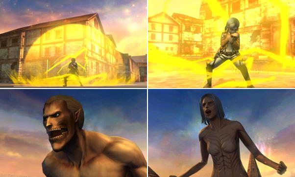 3DSのゲームソフト、進撃の巨人のリヴァイ編のダ …